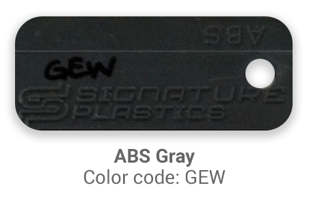 Pimp My Keyboard ABS Gray gew color-tab