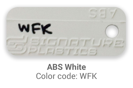 Pimp My Keyboard ABS White wfk color-tab