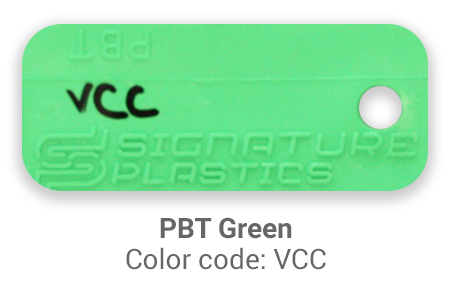Pimp My Keyboard PBT Green vcc color-tab