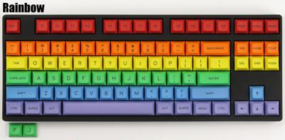 """DSA """"Rainbow"""" Keyset"""