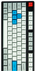 "DSA ""Granite"" Keyset (Sublimated)"