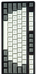 "DSA ""High Contrast Granite"" Keyset (Sublimated)"