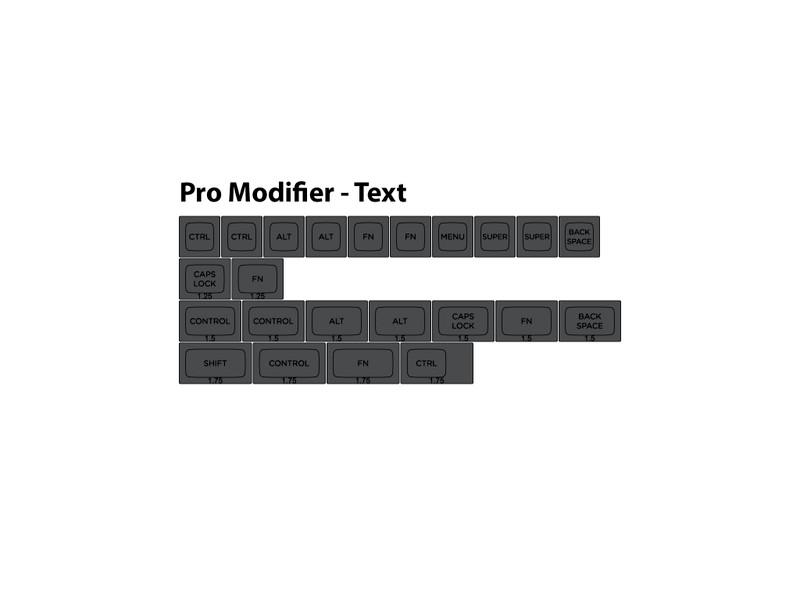 pro mod text