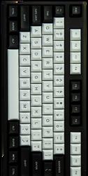 "DSA ""Black & White"" Keyset"