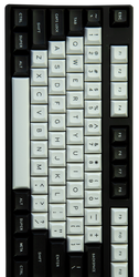 "DSA ""Black & White"" Keyset"