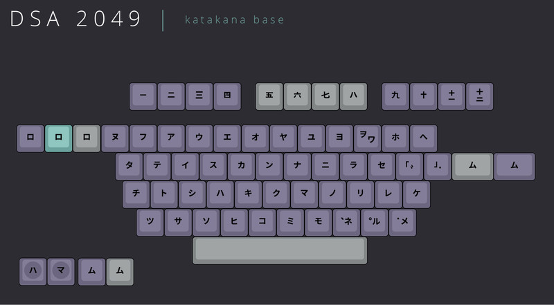Katakana Base Kit