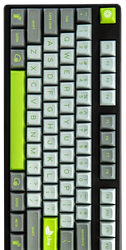 "SA ""Lime"" Keyset (Two Shot)"