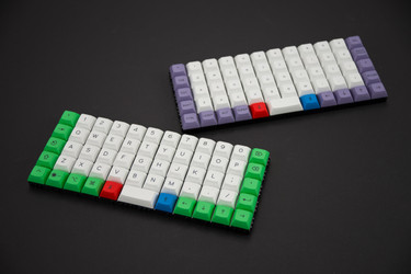 "DSA ""Beyond"" - Ortholinear Keyset"