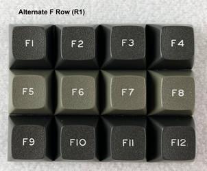 Alternate F Row