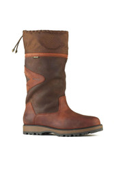 Toggi Columbus Calf Length Waterproof Country Boot - Dark Copper