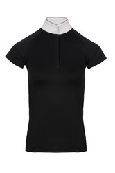Horseware Ladies Sara SS Competition Shirt - Black