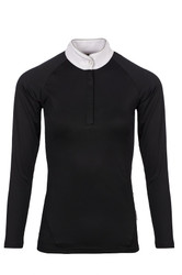 Horseware Ladies Sara Long Sleeve Competition Shirt - Black