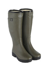 Le Chameau Ladies Country Fourree Boots - Vert Chameau