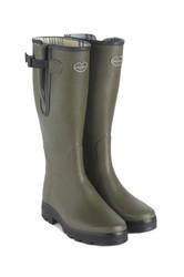 Le Chameau Ladies Vierzon Jersey Boots - Vert Chameau