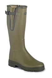 Le Chameau Mens Vierzon Jersey Boots - Vert Vierzon