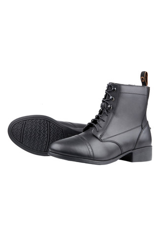 Dublin Childs Foundation Laced Paddock Boots - Black