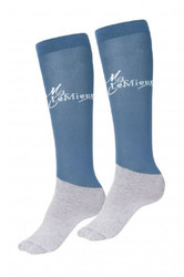 LeMieux Competition Sock - Ice Blue