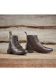 Dublin Ladies Foundation Laced Paddock Boots Lifestyle - Brown