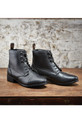 Dublin Ladies Foundation Laced Paddock Boots Lifestyle - Black