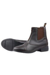 Dublin Childs Foundation Zip Paddock Boots - Brown
