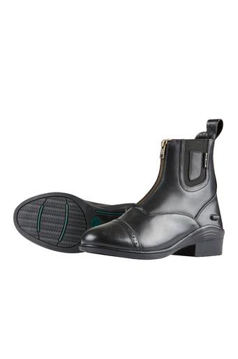Dublin Ladies Evolution Zip Front Paddock Boots - Black