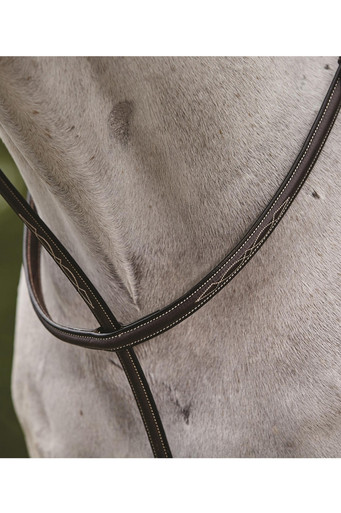 Collegiate Fancy Stitched Raised Martingale II