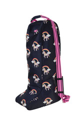 Hy Unicorn Boot Bag - NavyPink