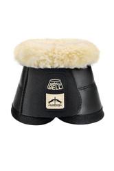 Veredus Safety Bell Overreach Boot Sheepskin - Black