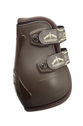 Veredus Pro Jump Velcro Fetlock Boot - Brown