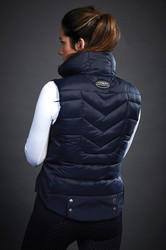 WeatherBeeta Ladies Dion Puffer Vest - Navy