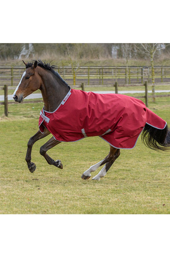 Bucas Irish Turnout Extra Blanket - Ruby