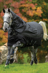 Horseware Amigo Bravo 12 Plus Reflectech Turnout 250g - Black/Reflective