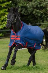 Horseware Mio Turnout Medium 200g - Dark Blue/Dark Blue