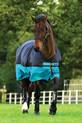 Horseware Mio Turnout Medium 200g - Black/Turquoise