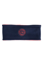 Hy Signature Ladies Soft Fleece Headband - Navy/Red