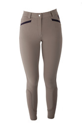 Mark Todd Ladies London Breeches - Taupe Navy