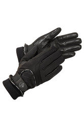 LeMieux Ladies Waterproof Lite Riding Gloves - Black