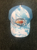 Fly Shop of Miami  Trucker Cap - Blue Cammo