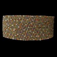 Camo bracelet, lightweight, 1-inch wide, XL