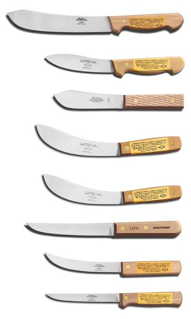 Dexter Russell 8 Piece Green River Buffalo Skinner Butcher Set