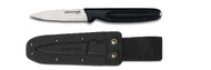 "Dexter Russell Basics 3 1/4"" Small Bait Chunking Knife With Sheath VB3934"
