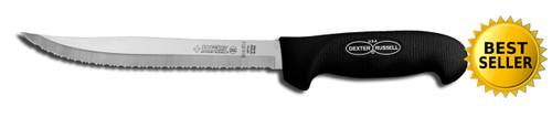 "Dexter Russell SofGrip 8"" Tiger Edge Slicer 24293B SG142-8"