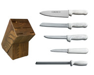 Dexter Russell Cutlery Sani-Safe Essential Knife Block Set VB4047
