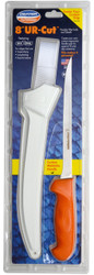 "Dexter Russell UR-Cut 8"" Flexible Fillet Knife Moldable Handle & Sheath 24683 UC133-8WS1-PCP"