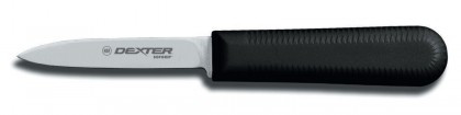 "Dexter Russell SofGrip 3 1/4"" Cooks Style Paring Knife 24333B SG104B"