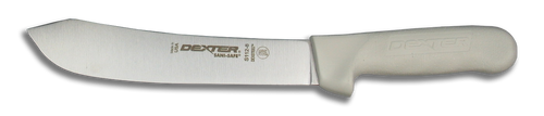 Dexter Russell 8 inch butcher knife with SaniSafe Handle 4133 S112-8