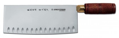 """Dexter Russell Connoisseur 8"""" x 3??ª"""" Duo-Edge Chinese Chef's Knife 8282 82CE-8"""