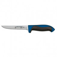 "Dexter Russell 360 Series 5"" scalloped utility knife blue handle 36003C S360-5SC-PCP"