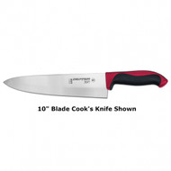"Dexter Russell 360 Series 8"" cook's knife red handle 36005R S360-8PCP"