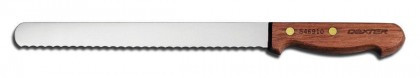 "Dexter Russell 10"" Traditional Scalloped Slicer 13250 S46910PCP"